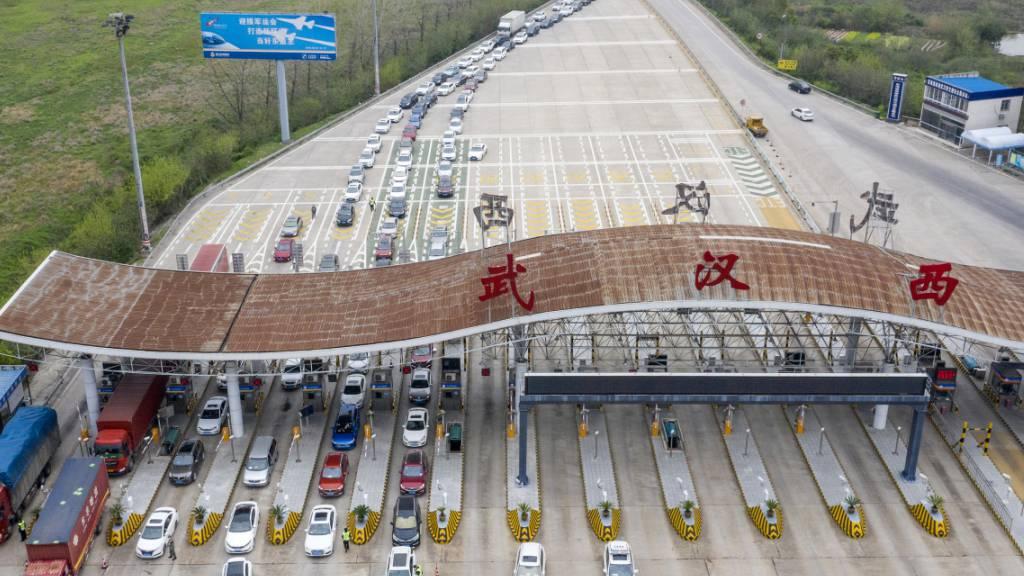 China beendet Isolation der Millionenmetropole Wuhan