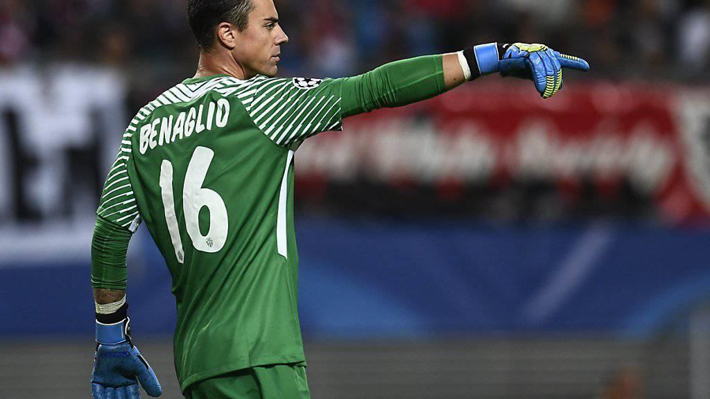 Bei Monaco noch ohne Gegentor: Diego Benaglio