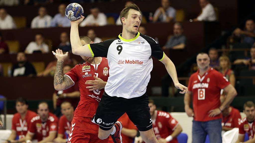 Aufstieg in die Bundesliga: Der Schweizer Internationale Marvin Lier wechselt zumindest bis Ende Jahr von Pfadi Winterthur zum deutschen Meister Flensburg-Handewitt