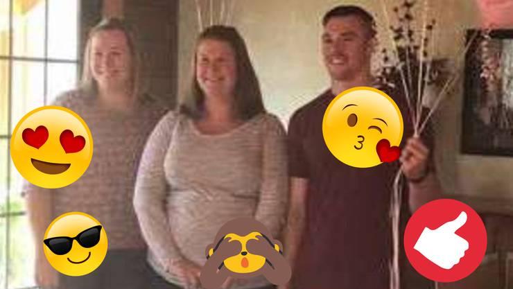 Diese Familie rückt noch näher zusammen: Lisa trägt für Schwester Melissa Zwillinge aus.