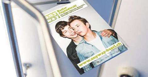 Die Plakatkampagne des Jugendtreffs Anyway von 2012.