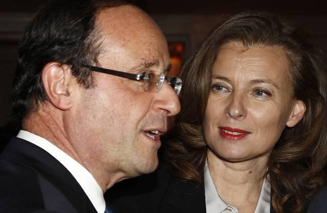 François Hollande und Valérie Trierweiler waren von 2012 bis Anfang 2014 ein Paar