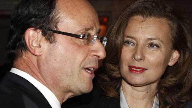 François Hollande und Valérie Trierweiler (Archiv)