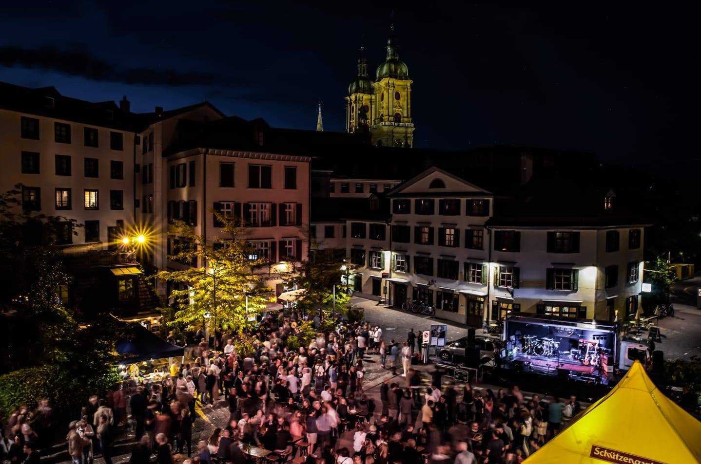 Der Pic-o-Pello-Platz wird am Wochenende zur Feststätte. (Bild: pd)