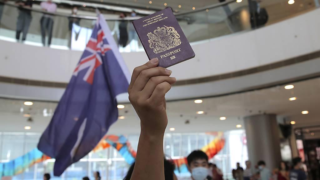 Peking droht London mit Quittung bei Einbürgerung von Hongkongern