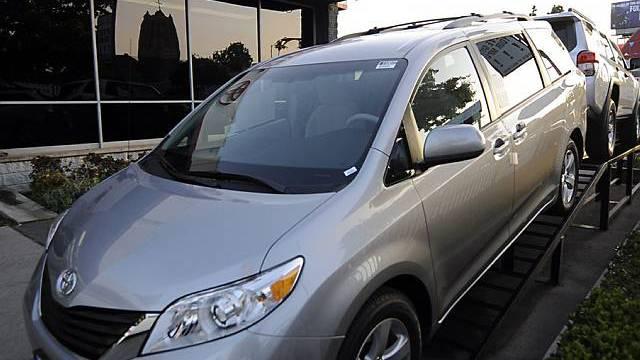 Korrosionsprobleme führten zum Rückruf: Der Sienna-Minivan von Toyota