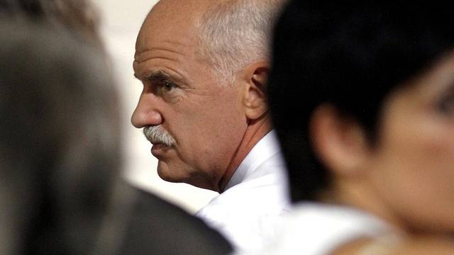 """Bezeichnete Szenarien zum Austritt Griechenlands aus der Euro-Zone als """"unseriös"""": Ministerpräsident Giorgos Papandreou (Archiv)"""
