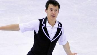 Titelverteidiger Patrick Chan nach Kurzprogramm in Führung.