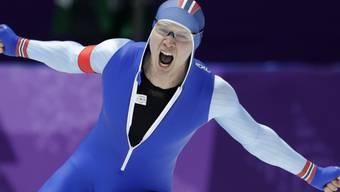 Der Norweger Havard Lorentzen sorgte mit seinem Triumph über 500 m für eine grosse Überraschung