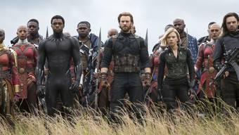 """""""Avengers: Infinity War"""" hat die Kinocharts in der Schweiz auch am zweiten Wochenende nach dem Start am 26. April dominiert. (Archiv)"""