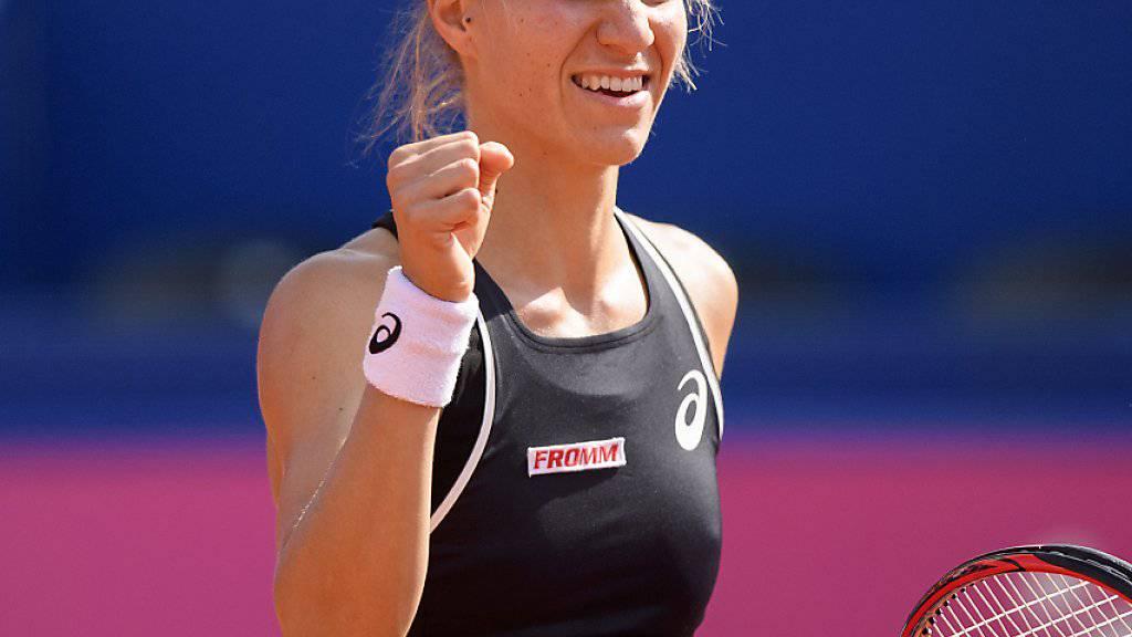 Viktorija Golubic feiert in Indian Wells ihren ersten Turniersieg auf Challenger-Stufe und wird in der Weltrangliste um rund 20 Positionen nach vorne rücken