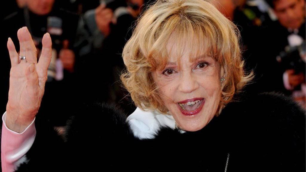 Die französische Schauspielerin Jeanne Moreau ist Ende Juli 2017 im Alter von 89 Jahren gestorben. (Archiv)