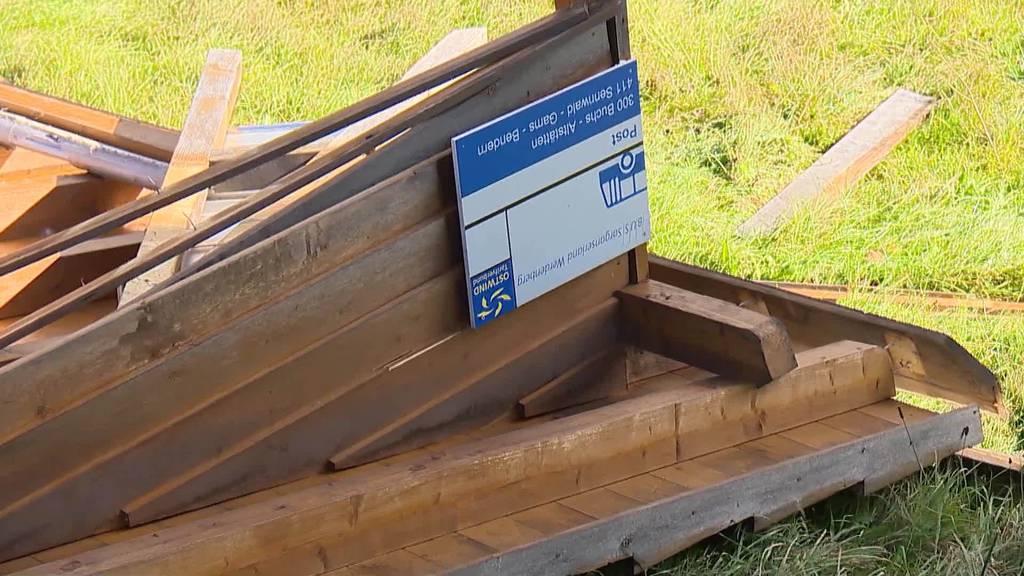 Kurznachrichten: Sturm Hendrik, Unfall, Budget Wil