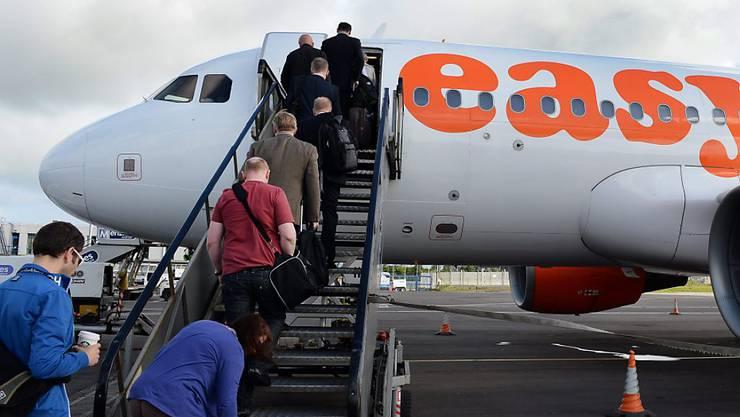 Mitarbeiter von Novartis fliegen mit Easyjet. Auch in den nächsten Jahren? (Symbolbild)