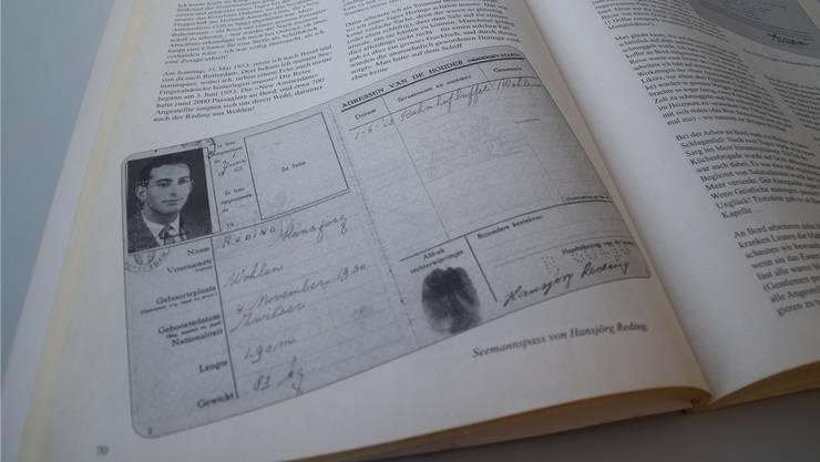 Der Seemannspass von Hansjörg Reding im Freiämter Kalender von 1999. jol