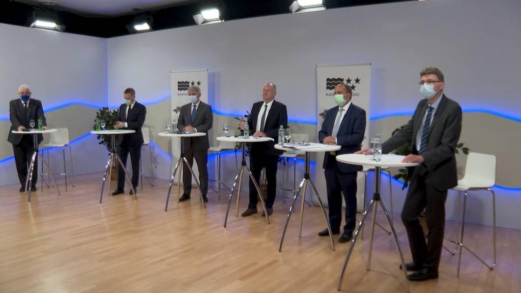 Kanton Aargau stellt 10-Jahres-Plan vor