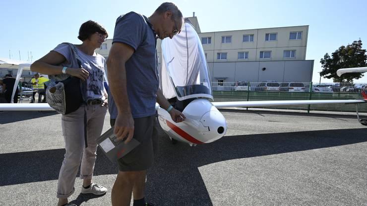 Ausstellung diverser Elektroflugzeuge und Präsentation verschiedener Projekte im Zusammenhang mit zukünftigen Technologien im Bereich Mobilität in der Luftfahrt oder Energiegewinnung.