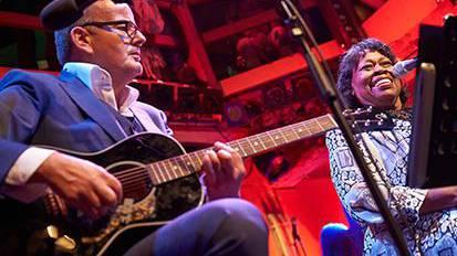 Philipp Fankhauser und Margie Evans unplugged