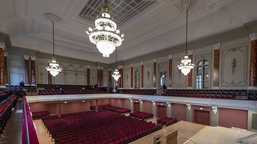 Sinfonieorchester und Theater Basel spielen vor 15 Leuten