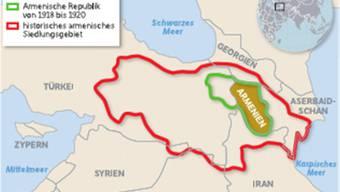 Siedlungsgebiet der Armenier