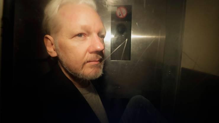 Wikileaks-Gründer Julian Assange: Bei der am Montag beginnenden Anhörung entscheidet sich seine Zukunft.
