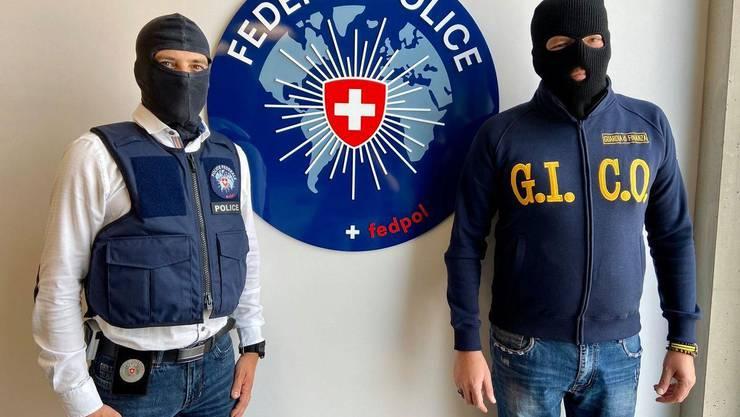 Razzia Ndrangheta, Fedpol