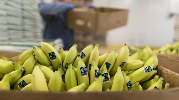 Ein beliebter Weg, um Kokain zu schmuggeln: Bananenkisten. (Bild: Keystone)