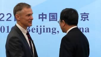David Rank sagt Adieu: Der US-Botschafter in China quittiert den Dienst. (Archivbild)
