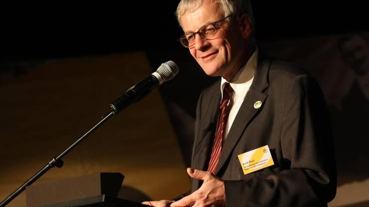 «Die Interessen der Regio Energie sind die Interessen der Stadt», sagt Kurt Fluri. Im Doppelmandat als Stadtpräsident und Regio-Energie-Verwaltungsratspräsident (von Amts wegen) sieht er keinen Interessenkonflikt.