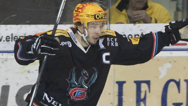Fribourg-Schlüsselspieler Julien Sprunger