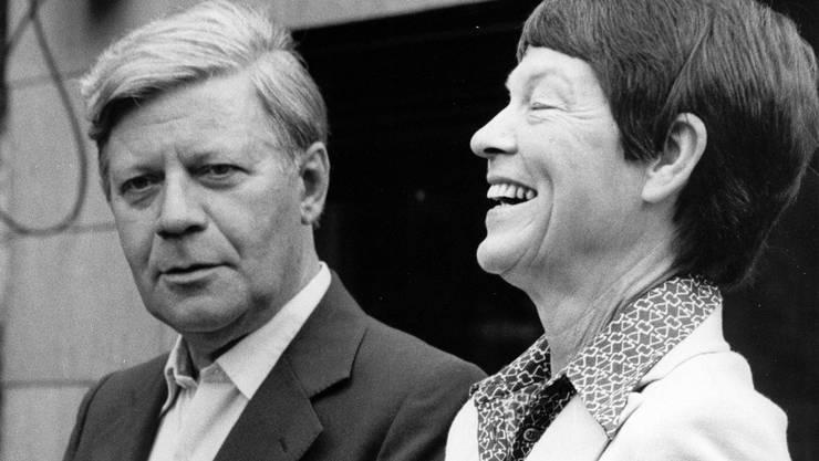 Helmut und Loki Schmidt waren 68 Jahre verheiratet