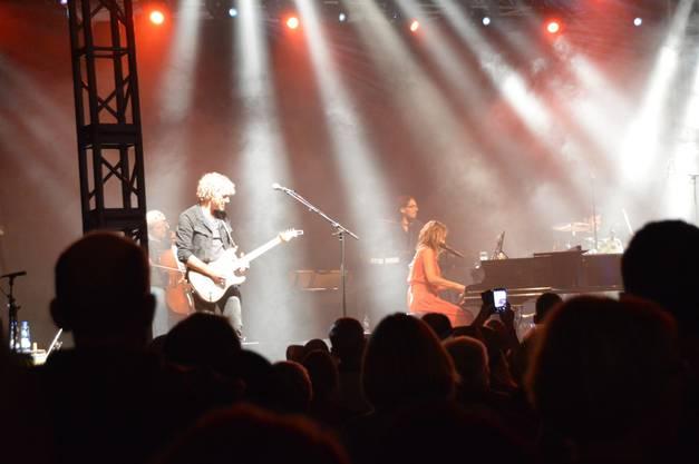 Impressionen von der Pop-Rock-Night Schupfart Festival 2018. Auftritt Eliane Müller.