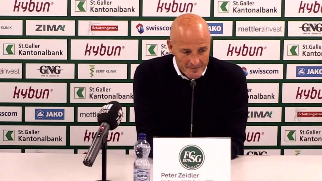 YB-FCSG: Peter Zeidler vor Spitzenspiel ohne Fans
