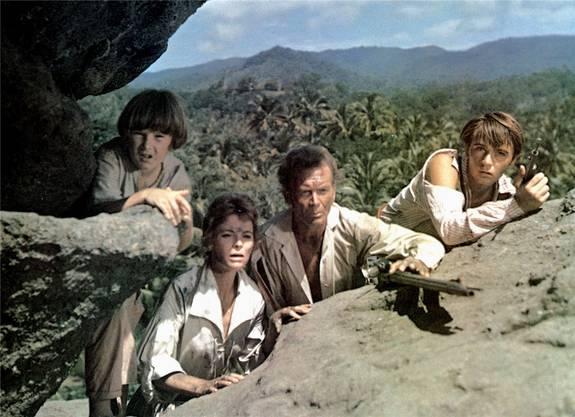 ZDF sendete 1960 die Serie «Die Schweizer Familie Robinson».