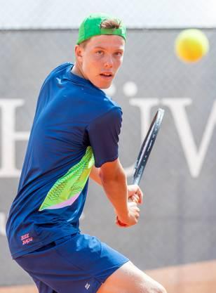 Janis Simmen revanchierte sich mit seinem Sieg im Final gegen Sam Pidoux für die Finalniederlage vom Januar.