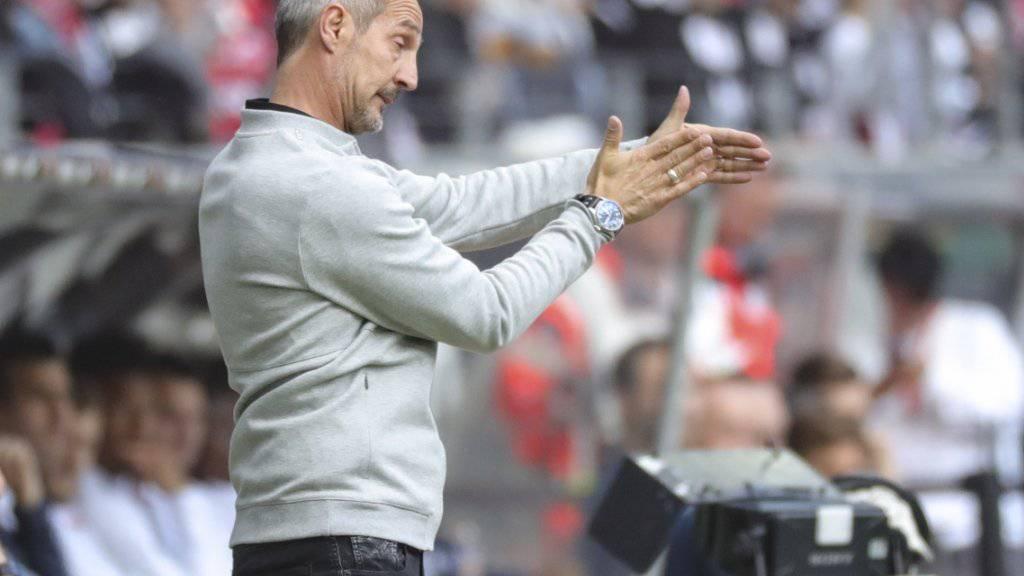 Adi Hütters Eintracht Frankfurt ist aus dem Tritt geraten