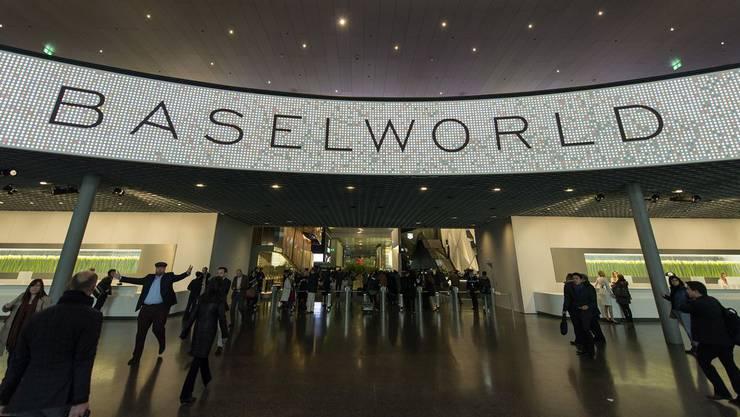 Die Baselworld erwartet dieses Jahr 150'000 Besucher (Archivbild).