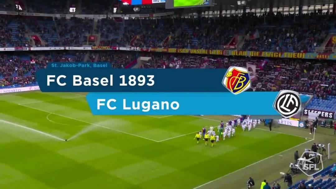 FCB-Lugano 1:1, 28. Spieltag 18/19