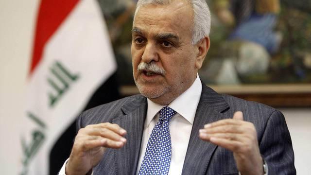 In Abwesenheit zum Tode verurteilt: Iraks Vizepräsident Tarik al-Haschemi (Archiv)