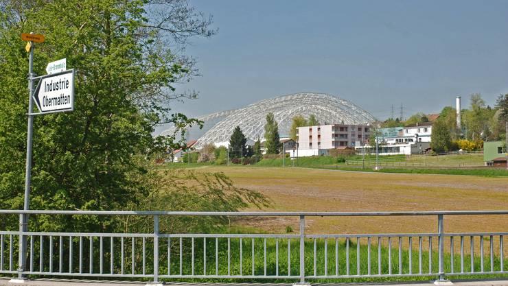 Das Industriegebiet in den Kölliker Obermatten liegt seit Jahrzehnten brach