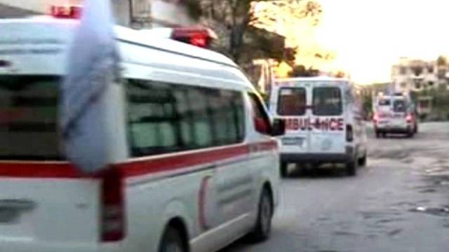 Erste Verletzte konnten aus dem Krisengebiet gebracht werden
