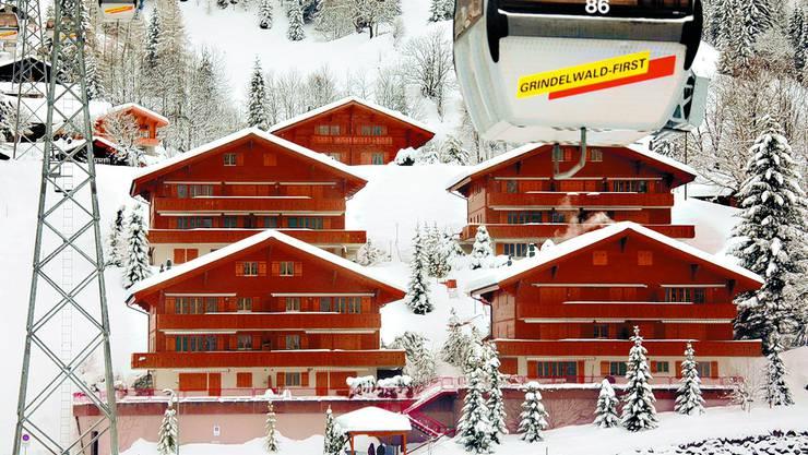 Viel Schnee im Skigebiet First – bald erste Sommersaison für First-Flieger.