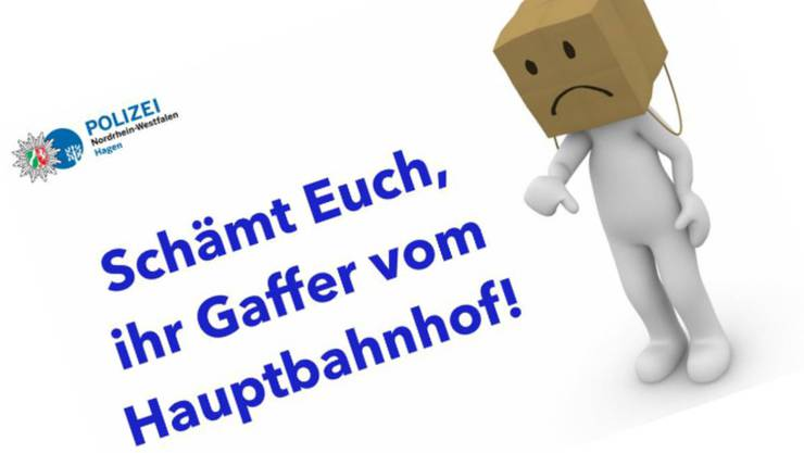 Die Polizei Hagen verbreitet auf Facebook einen wütenden Weckruf. bild facebookpolizei nrw hagen