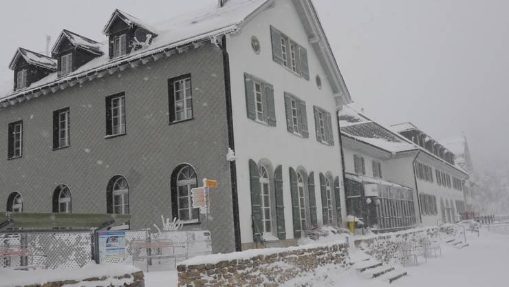 Auch an kalten Tagen ist für Wärme auf dem Weissenstein gesorgt.