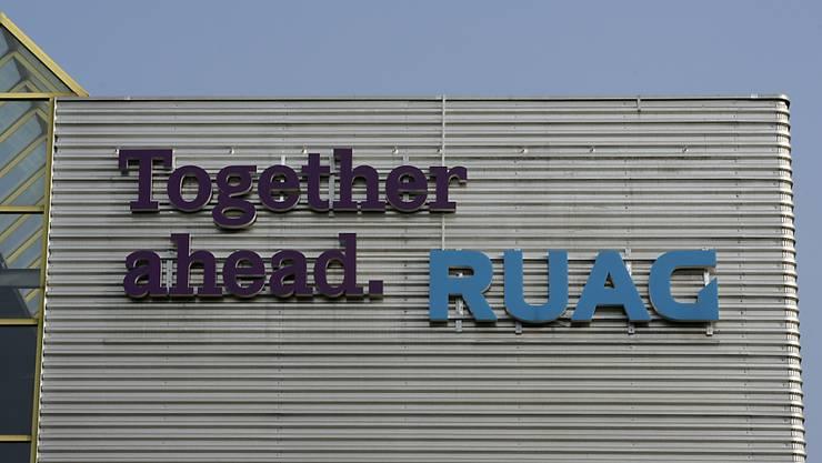 Leitspruch im Gegenwind: Wegen der Frankenstärke ging es bei Ruag im ersten Halbjahr rückwärts statt vorwärts (Archiv).