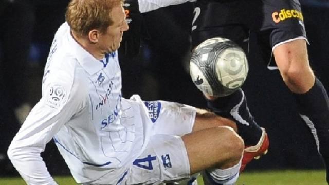 Stéphane Grichting verpasste mit Auxerre den Sprung an die Tabellenspitze