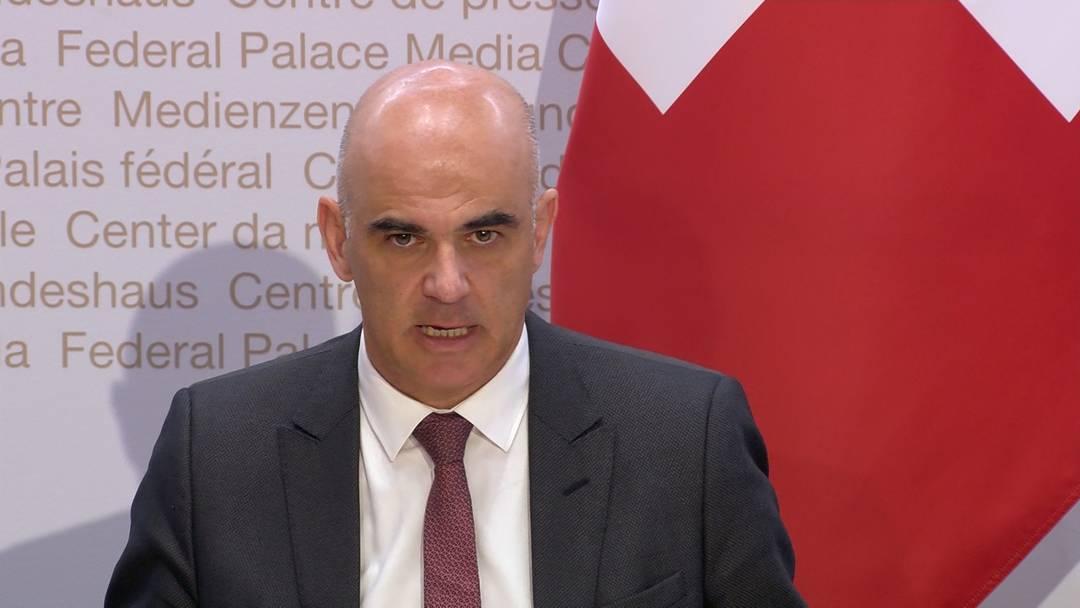 Bundesrat: Appell an die Bevölkerung aber keine neuen Massnahmen