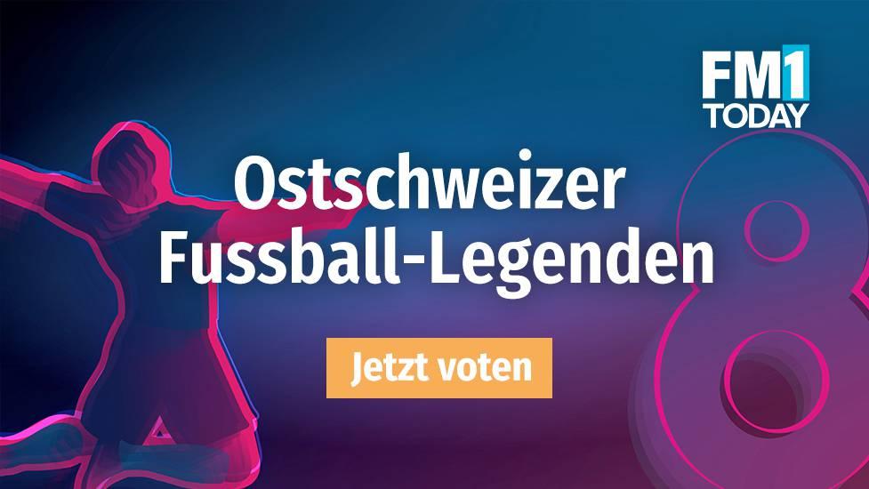 Wer ist die grösste Ostschweizer Fussball-Legende?