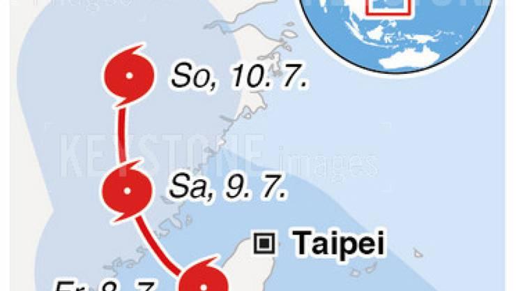 Über 70 Menschen sind im Taifun Nepartak in Taiwan und China ums Leben gekommen. Meteorologen hatten vor dem Super-Taifun gewarnt.