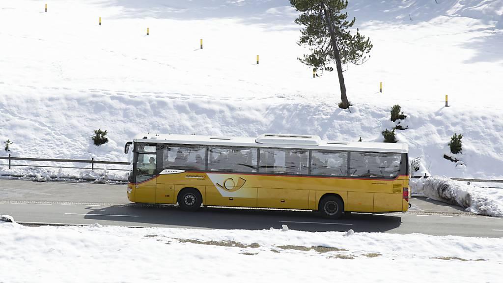 Personenverkehr bei Postauto wegen Corona um 25 Prozent gesunken